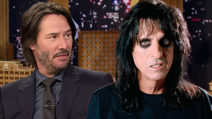 Keanu Reeves Reveals The Shocking Connection He Has With Alice Cooper That You Never Knew About | Society Of Rock Videos