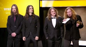 Things Got Awkward When Megadeth's Grammy Moment Was Met With The Wrong Entrance Music…