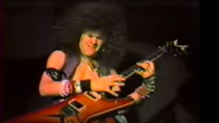 Rare Footage Shows An 18-Year-Old Dimebag Darrell From His Glam-Metal Days Shredding A Wicked Guitar Solo! | Society Of Rock Videos