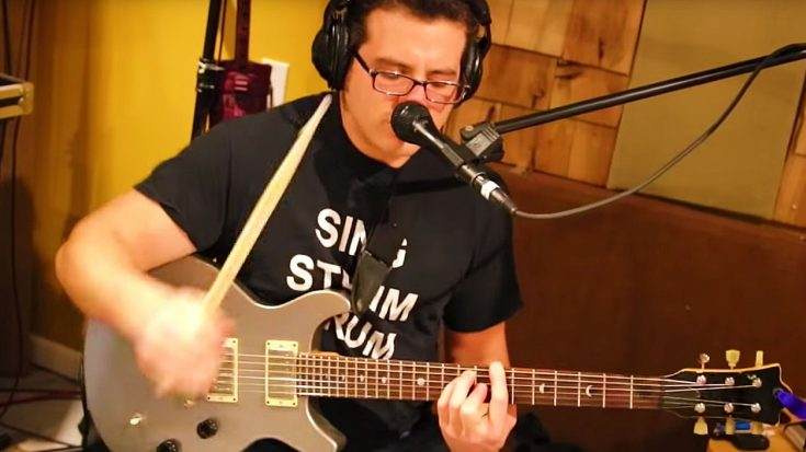 "One Man Band Jams Rush's ""Tom Sawyer"" – All By Himself 