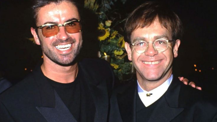 Elton John Offers Up Heartfelt, Emotional Glimpse Into A Side Of George Michael That Few Knew Existed | Society Of Rock Videos