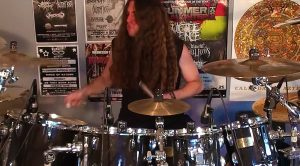 "Metal Dude Serves Up Hard Rockin' Drum Cover Of ""Free Bird,"" And We Can't Tear Our Eyes Away"