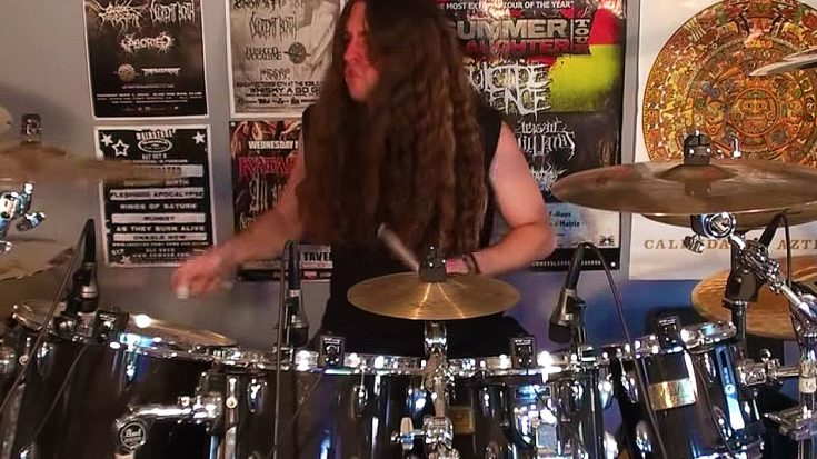 "Metal Dude Serves Up Hard Rockin' Drum Cover Of ""Free Bird,"" And We Can't Tear Our Eyes Away 