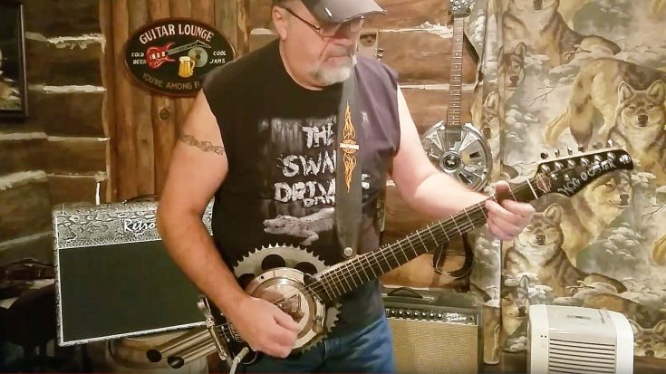 Biker Shreds Guitar Made From Harley Parts – Wait, What?! | Society Of Rock Videos