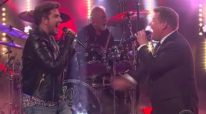 Who's The Better Queen Frontman? James Corden And Adam Lambert Go Head To Head To Find Out