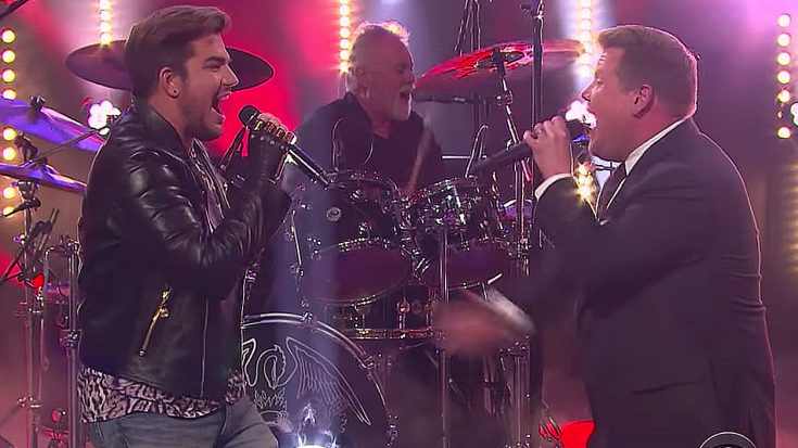 Who's The Better Queen Frontman? James Corden And Adam Lambert Go Head To Head To Find Out | Society Of Rock Videos