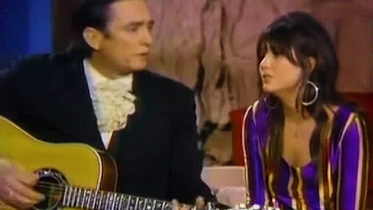 "Flashback To Linda Ronstadt's Heartbreaking ""I Never Will Marry"" Duet With Late Legend, Johnny Cash 