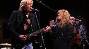 "Check Out Stevie Nicks And Jimmy Fallon's Spot On ""Stop Draggin' My Heart Around"" Video Remake"