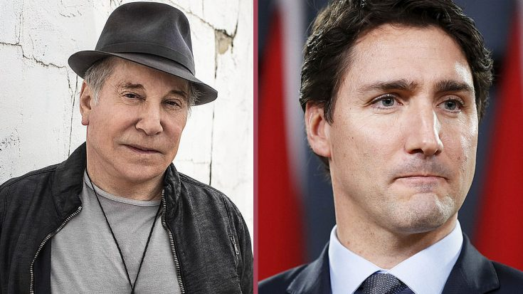 Apparently, Canadian Prime Minister Justin Trudeau Is Not A Fan Of Paul Simon, In Fact, He Despises Him… | Society Of Rock Videos