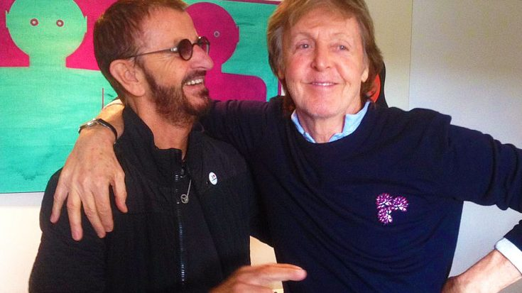 Ringo And Paul Are In The Studio, And We're Dying To Know What These Beatles Are Cookin' Up | Society Of Rock Videos