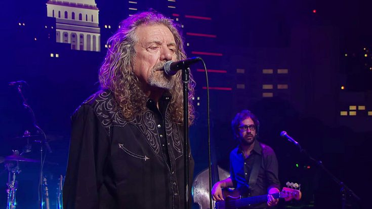 Robert Plant Channels Inner Backwoods Blues For One-Night-Only Performance Of This Iconic Hit! | Society Of Rock Videos