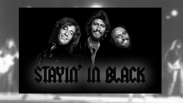 "Someone Mashed Together ""Back In Black"" With The Bee Gees' ""Stayin' Alive,""  And It's…Interesting? 