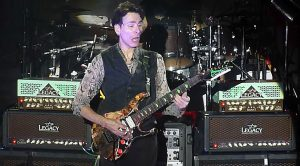Caught On Camera: Steve Vai Put On A Masterclass With His Performance Of 'Weeping China Doll'!