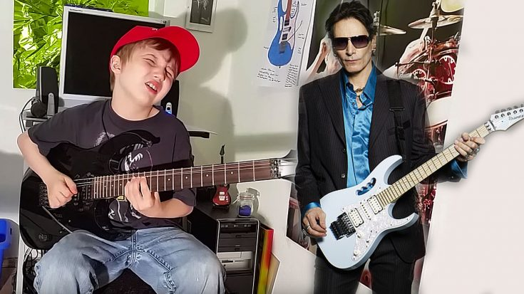 10-Year-Old Rocker Absolutely Crushes Steve Vai's 'For The Love Of God' And It's Simply Phenomenal! | Society Of Rock Videos