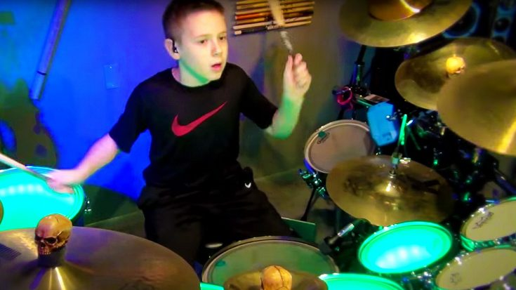 10-Year Old Avery's Gritty Cover Of 'Black Betty' Will Leave You With Your Jaw On The Floor! | Society Of Rock Videos