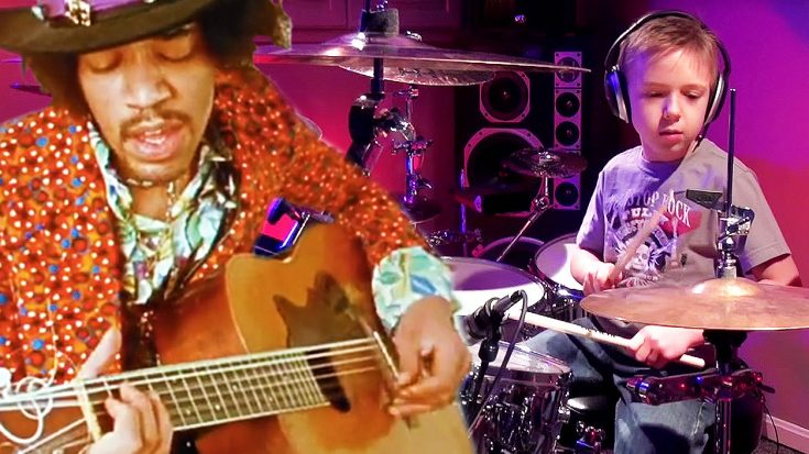 "At 7-Years Old, Young Avery Molek Crushed This Cover Of Jimi Hendrix's ""Fire"" With Ease! 