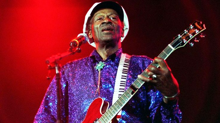 Chuck Berry's Estate Releases First Brand New Song Since His Death, And It's Absolutley Phenomenal!