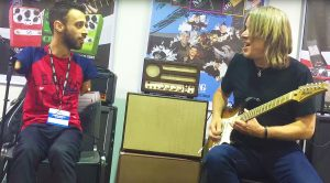 Andy Timmons Jams With A Special Fan, Who Shreds A Mind-Blowing Solo With His Feet!