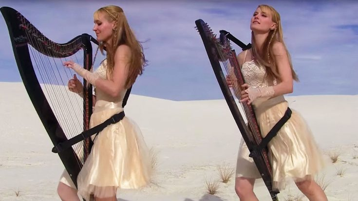 Harp Twins Rework Metallica's 'Enter Sandman' Into An Elegant Masterpiece, And It's Absolutley Beautiful! | Society Of Rock Videos