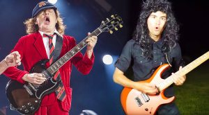 Ever Wonder What AC/DC Would Sound Like With Kirk Hammett On Guitar?—Well, Here's Your Answer!