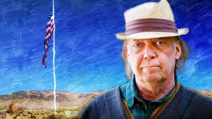 Neil Young Paints Out The Beauty Of America In His Brand New Music Video For 'Peace Trail' | Society Of Rock Videos