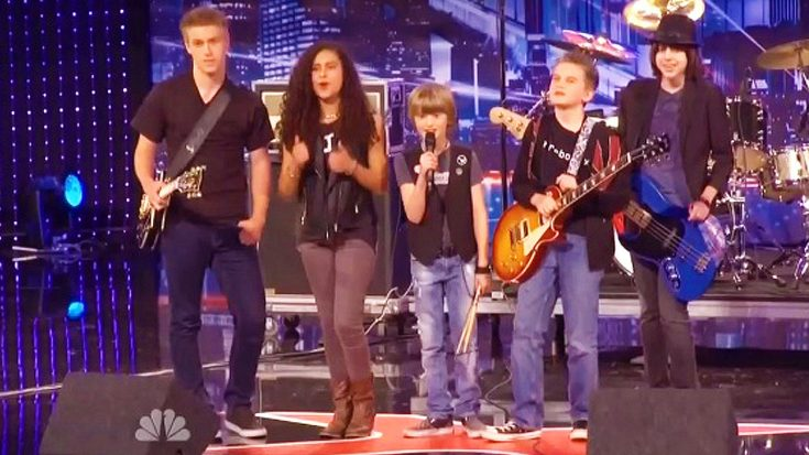 America's Got Talent Judges Are Left In Awe By These Young Kids Rocking Out To 'Paranoid!' | Society Of Rock Videos