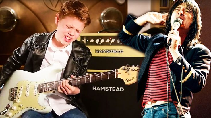 """12-Year Old Takes Journey's 'Don't Stop Believin"""" To The Next Level With Jaw-Dropping Guitar Solo! 