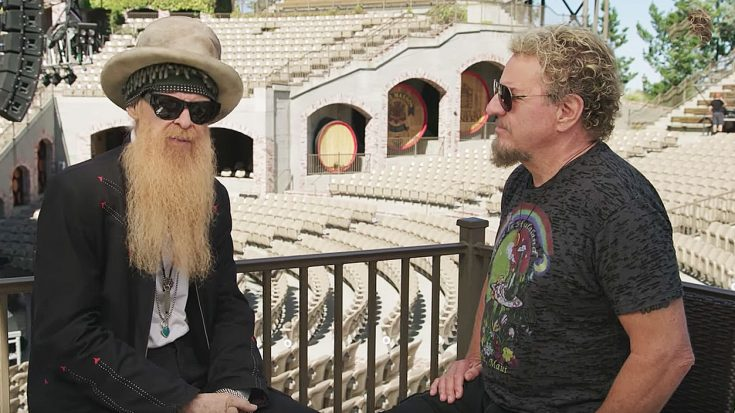 Billy Gibbons Is Asked Who The Best 'Blues Guy' Is | His Answer Instantly Makes Sammy Hagar Smile! | Society Of Rock Videos
