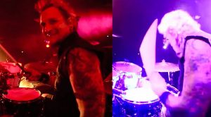 A Camera Is Set Behind Steve Vai's Drummer, But The Best Part Is What The Camera Caught!