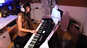 "Young Girl Turns ""Hotel California"" Into A Piano-Written Masterpiece!"
