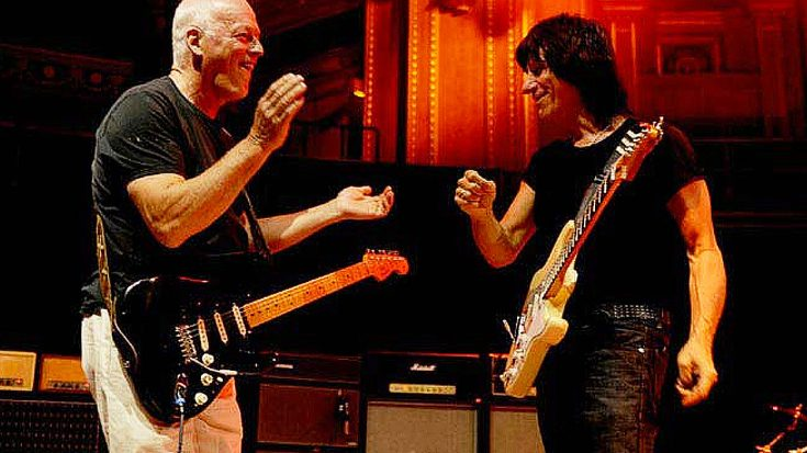 "Jeff Beck And David Gilmour Trade Licks On ""Jerusalem,"" And It's As Awesome As You Expected 