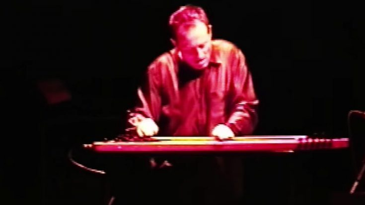 "John Paul Jones Was Caught On Camera Giving The Most Epic Lap Steel Performance Of ""Black Dog""! 