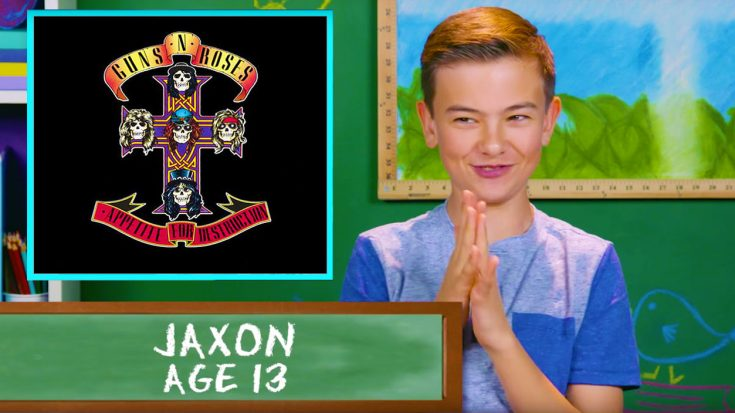 Kids Listen To Guns N' Roses For The First Time, And Their Reactions Are Absolutely Priceless | Society Of Rock Videos
