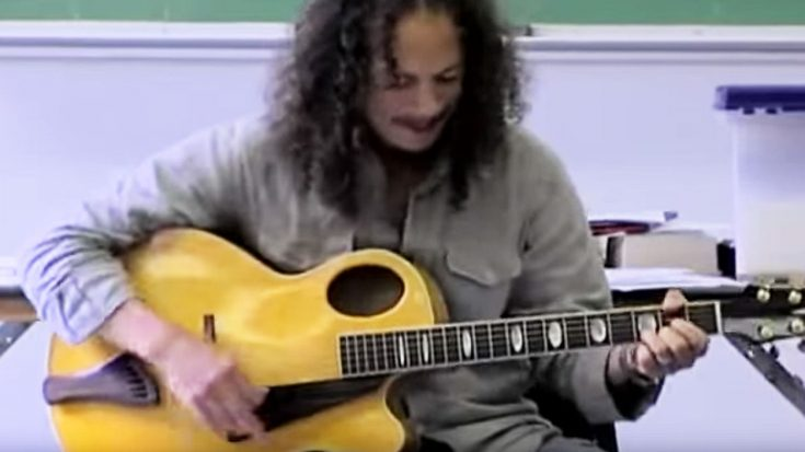 When Kirk Hammett Had To Go To Traffic School, He Showed Up And Did What He Does Best! | Society Of Rock Videos
