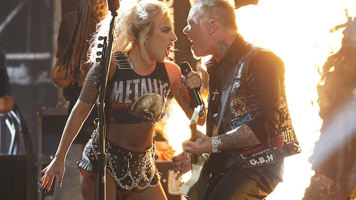 This Is Metallica And Lady Gaga's Grammy Awards Performance – Notice Anything Different? | Society Of Rock Videos