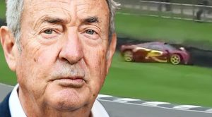 Things Get Scary When Pink Floyd's Nick Mason Crashes Prized Racecar Into A Wall