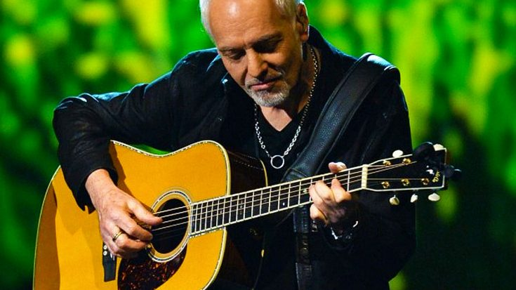 "Peter Frampton Saves A Life And The Experience Inspires His Brand New Song, ""I Saved A Bird Today"" 