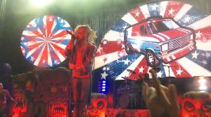 """Camera Catches Rob Zombie Performing A Cover Of """"We're An American Band"""" That Is Too Good For Words!"""