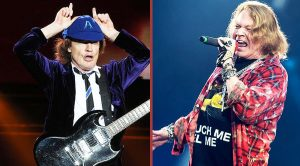 AC/DC In Trouble After Fans Wouldn't Accept Axl Rose As Their Singer