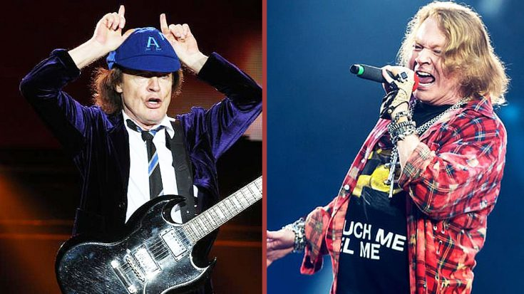 AC/DC In Trouble After Fans Wouldn't Accept Axl Rose As Their Singer | Society Of Rock Videos