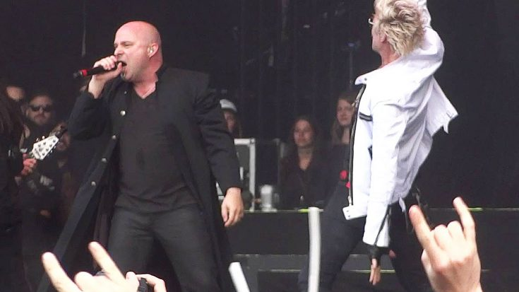 "Disturbed Steal The Show With Epic Cover Of Mötley Crüe's ""Shout At The Devil"""