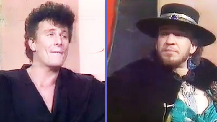 Rare Stevie Ray Vaughan Interview Surfaces Showing An Interviewer Who Just Couldn't Keep It Together | Society Of Rock Videos