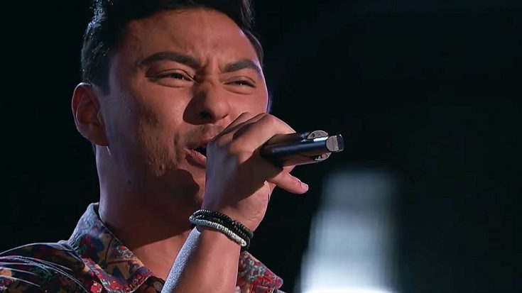 "This 'Voice' Contestant's ""Pride And Joy"" Cover Was So Good, Judges Actually Battled To Snag Him First 