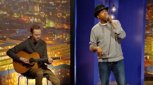 Michael Winslow Recreates His Hilarious Iconic Led Zeppelin Impression On Live TV!
