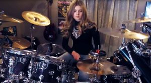 Young Girl's Masterful Cover of 'Fool In The Rain' Would Make John Bonham Smile From Ear to Ear!