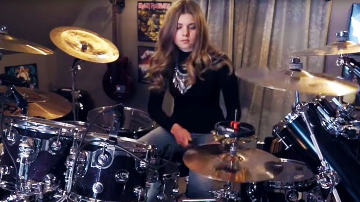 Young Girl's Masterful Cover of 'Fool In The Rain' Would Make John Bonham Smile From Ear to Ear! | Society Of Rock Videos