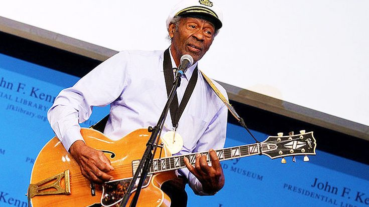 Chuck Berry's Iconic, Old School Sound Is Resurrected In Legend's First Posthumous Single 'Wonderful Woman' | Society Of Rock Videos