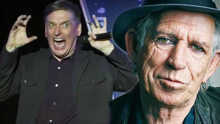 Comedian Craig Ferguson Recalls Hilarious Story About Keith Richards That Will Have You In Tears! | Society Of Rock Videos