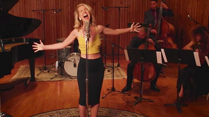 """Woman Reworks Aerosmith's """"Dream On"""" Into A Classic Jazz Tune, And It's Guaranteed To Give You Chills! 