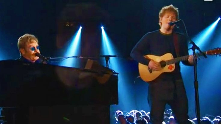 Elton John Invites His Protégé Ed Sheeran On Stage For Once In A Lifetime Duet!